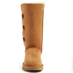 Bailey Button Triplet 11 Genuine Shearling Boot